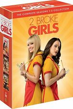 TWO 2 BROKE GIRLS 1-3 COMPLETE DVD SEASON 1 2 3  DVD ENGLISCH