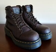 Dr Martens Ankle Combat Made in England 6 Eye Brown Leather Boots Women's Size 6