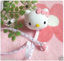 Hello Kitty Automatic Tape Measure Ruler 4 ft 100cm Retractable KK05