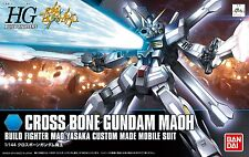 Gundam HG Build Fighters 014 Cross Bone Gundam Maoh Mao Yasaka Model Kit Bandai