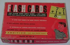 1959 Sardell & Company Teaching Aids Flash Cards