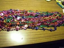 WHOLESALE LOT 144 PEACE SIGN NECKLACES MARDI GRAS BEADS New Orleans hippie 60s