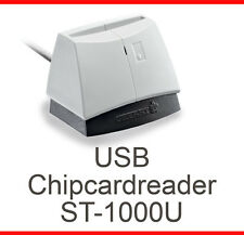 USB KARTENLESER CARDREADER CHERRY ST-1000U CARDMAN 2020 HBCI FÜR WINDOWS XP WIN7