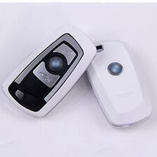 White New Matte surface Car Remote key Case Shell Protect Housing Cover For BMW