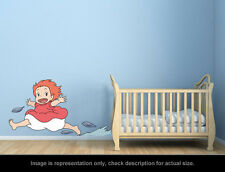 Ghibli Ponyo - Ponyo Smile Wall Art Applique Stickers