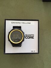 "Suunto ""CORE"" Sahara Yellow  SS016789000 New With Box"