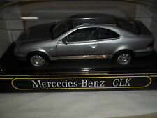 Anson 30330 Mercedes Benz CLK Silver 1/18 Mint & Boxed