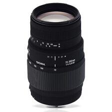 Sigma 4509955 Nikon AF 70-300MM F/4-5.6 DG M MOT Lens  with GEN SIGMA WARR