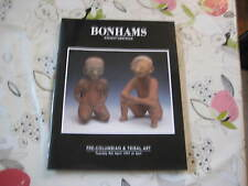 BONHAMS  CATALOGUE PRE COLUMBIAN & TRIBAL ART APR97
