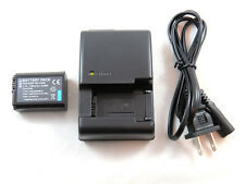 Charger and Battery for Sony P-FW50, BC-VW1 Sony Alpha a3000, a5000, a6000