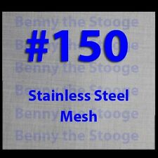 "24""x24"" 150 MESH / 100 MICRON WOVEN WIRE MESH STAINLESS STEEL FILTRATION GRADE"
