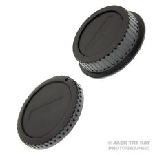 Canon EOS Body Cap & Rear Lens Cap Set. Fits all Canon EF & EF-S Lenses & DSLRs