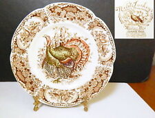 "Johnson Brothers WILD TURKEYS 8"" Salad Plate(s), England, Great Condition!!"