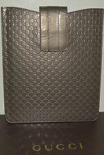 NIB GUCCI METALLIC GUCCISSIMA LEATHER iPAD 2 CASE CARRIER SLEEVE MADE IN ITALY