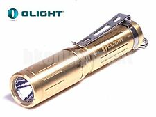 OLIGHT i3S-cu CREE XP-L HD LED 180lm AAA BRASS FLASHLIGHT