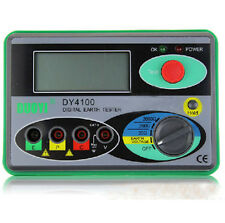 DY4100 Digital Earth Ground Resistance Tester Meter High-Performance 2000Ω 0.01