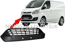 FORD TRANSIT CUSTOM 2013- FRONT BUMPER GRILLE CENTRE UPPER INSURANCE APPROVED
