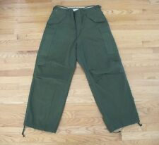 VINTAGE ORIGINAL TROUSERS, SHELL FIELD M-1951 M51 KOREAN WAR MEDIUM REGULAR NOS