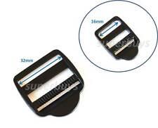 16mm Plastic Ladder Lock - For Webbing Strap Buckle Clip Bag Backpack Fastener