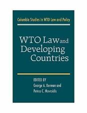 WTO Law and Developing Countries by George A. Bermann Hardcover Book (English)