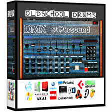 Oberheim DMX Wav Drum Kit maschine mikro MPC rap Beat Samples 24 bit 96Khz 24bit