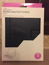 PROTECTIVE FOLIO CASE WITH BUILT IN BLUETOOTH KEYBOARD FOR IPAD AIR IN BLACK!!!