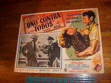 AYN RAND: VINTAGE FOUNTAINHEAD MOVIE SPANISH (MEXICO) LOBBY CARD, #2 listing