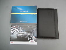 KIA CARENS HANDBOOK OWNERS MANUAL 2013-2015 PRINT 2013