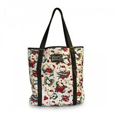 Hello Kitty Printed Flash Tattoo Canvas Tote by Loungefly & Sanrio