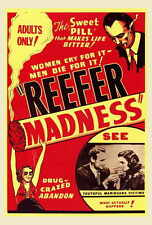 REEFER MADNESS Movie POSTER 27x40 Dave O'Brien Dorothy Short Warren McCollum