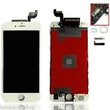 TOUCH SCREEN FRAME VETRO LCD DISPLAY RETINA SCHERMO PER APPLE IPHONE 6S BIANCO