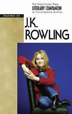 JK Rowling (hardcover edition) (Literary Companion to Contemporary Aut-ExLibrary