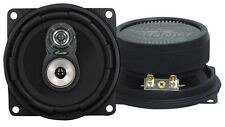 "Pair 4"" inch Premium 3-Way Car Audio Stereo Radio Replacement Speakers HQ Sound"
