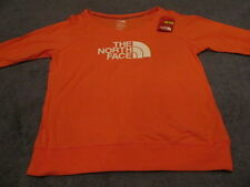 THE NORTH FACE WOMENS JERSEY BOAT NECK TEE XLARGE ORANGE