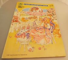 Vintage 1987 Lady Lovely Locks Coloring book, 1/3 used