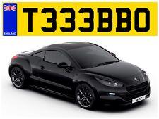 T333 BBO GT Turbo rápido fuerte BMW GTI Bad Boy Ferrari Porsche privado número de matrícula