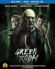 Green Room [Blu-ray + Digital HD] Free Shipping Brand New