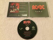 JEWEL CASE AC/DC PLUG ME IN 2007 BONUS PROMO 3 TRK  CD THUNDERSTRUCK DIRTY DEEDS