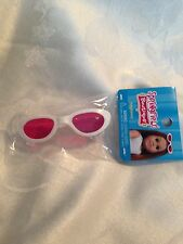 """Springfield Doll Clothes -White Sunglasses For American Girl or all 18"""" doll"""
