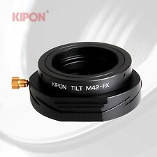 New Version Kipon Tilt Adapter for M42 Lens to Fuji X-Pro1 X-E1 X-T1 X-M1 Camera