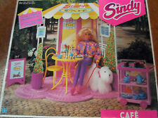 Vintage Pedigree Sindy 1992 HASBRO Sealed UNUSED BOXED COMPLETE CAFE UNUSED XMAS