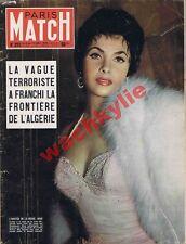 Paris Match n°293 du 06/11/1954 Gina Lollobrigida Algérie Rebuffat Négus