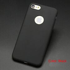 Candy Color Silicone TPU Shockproof Phone Case Cover For iPhone 6 6s Plus 7 Plus