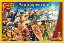 ARAB SPEARMEN AND ARCHERS - GRIPPING BEAST PLASTICS GBP 28MM - CRUSADES - SAGA