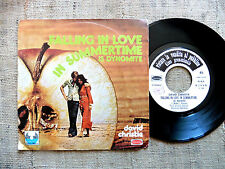 David Christie ‎– Falling In Love In Summertime / Times Were Better  45 giri