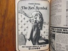 September 14, 1974 Guide(CONNIE  STEVENS/THE SEX  SYMBOL/LES BROWN/HAWAIIAN EYE)