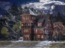 Vollmer 43679 Villa Vampir mit Flackerlicht H0 Bausatz Neu