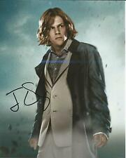 Hand Signed 8x10 photo JESSE EISENBERG BATMAN v SUPERMAN - Lex Luthor + my COA
