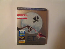 ET (Blu-Ray/DVD/Digital,STEELBOOK) Target Exclusive E-T Anniversary New OOP Rare