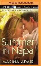 A St. Helena Vineyard Novel: Summer in Napa by Marina Adair (2015, MP3 CD,...